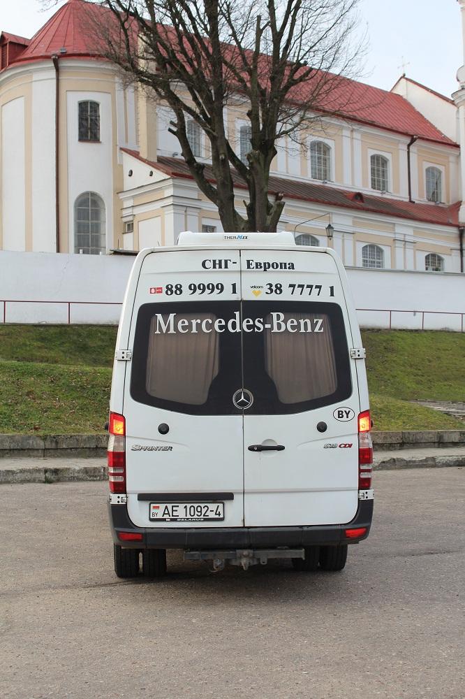 Мерседес Бенц Спринтер, 2007г.в.  18 пассажирских мест, кондиционер, ТВ, ДВД, вебасто